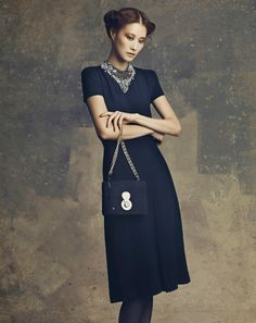 English Glamour | Lee Hyun Yi | Yong Kyun Zoo #photography | Marie Claire Korea October 2012