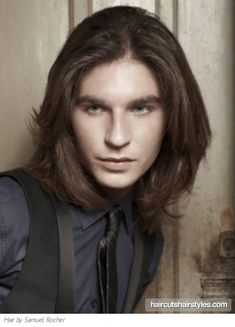 #LongHair #Mens #Hair For Style That Works, Visit www.emersonsalon.com