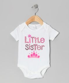 8bfba07786a Relevant Products Pink Princess  Little Sister  Bodysuit - Infant. Pink  PrincessLittle PrincessMy Baby GirlBaby ...