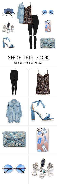 """""""Untitled #1289"""" by carole-hadad on Polyvore featuring Topshop, City Chic, LE3NO, Alexandre Birman, Mantaray, Casetify and plus size clothing"""