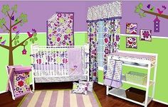 the nursery set we got for miss maliha :)