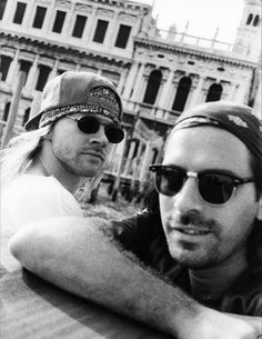 Axl Rose & Sante D'Orazio in Venice, Italy, 1993 Richard Fortus, Axl Rose, Guns N Roses, Duff Mckagan, Hard Rock, Rock N Roll, Rose Williams, Slash, Hollywood