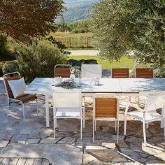 Dahlia Table de jardin à extension automatique
