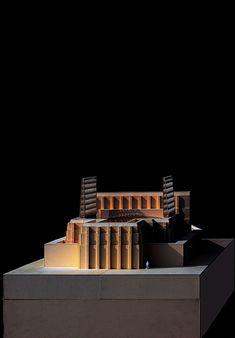 Gdansk Shakespearean Theatre,Model 32