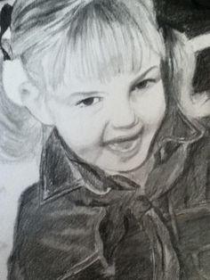 Drawing - Portrait  https://www.facebook.com/Anouktekent http://xxanouk95.deviantart.com/
