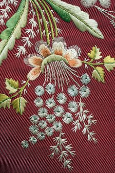 The Metropolitan Museum of Art - Suit. Would be nice as crewel embroidery and different colours. May try...