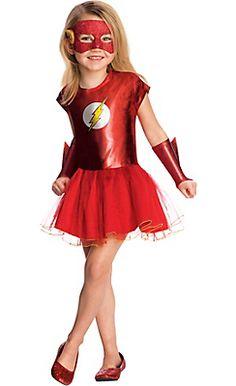 Flash Tutu DC Comics Superhero Fancy Dress Up Halloween Toddler Child Costume Girl Superhero Costumes, Superhero Fancy Dress, Toddler Costumes, Tutu Costumes, Halloween Costumes For Girls, Costume Dress, Superhero Cosplay, Girl Halloween, Flash Halloween Costume