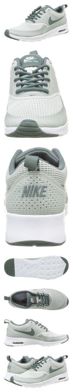 Shop Nike Women's Air Max Thea Txt Light SilverHastaWhite