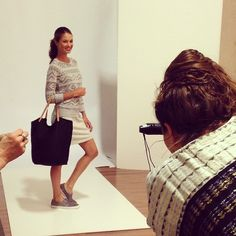Allie at a #mixedbagdesigns photo shoot! http://instagram.com/p/oy6n-RMIJ0/