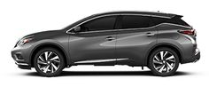 Photo of Nissan Murano Platinum Crossover with 20 inches Aluminum-alloy wheels.