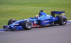 Luciano Burti - 2001 - Prost Grand Prix - AP04