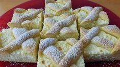 Receptek, és hasznos cikkek oldala: Túrós rácsos sütemény Eta módra
