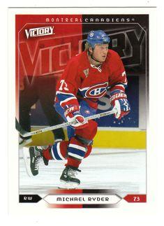 Michael Ryder # 104 - 2005-06 Upper Deck Victory Hockey