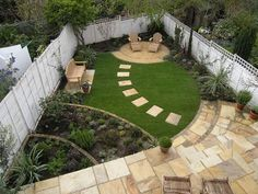 Small backyard patio ideas back yards plants 22 Ideas Back Gardens, Small Gardens, Outdoor Gardens, Small Backyard Landscaping, Backyard Patio, Landscaping Ideas, Diy Garden, Dream Garden, Garden Beds