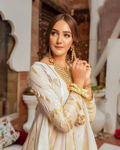 Eid Collection - Volume III - Guriya For orders and inquiries; Pakistani Dresses Party, Asian Bridal Dresses, Shadi Dresses, Pakistani Fashion Party Wear, Pakistani Wedding Outfits, Emo Dresses, Wedding Dresses For Girls, Girls Dresses, Party Dresses