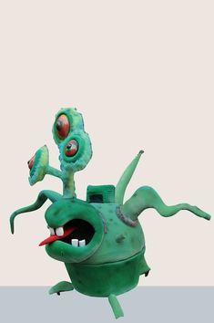 MASKOT | Creature Moving Eyes, Glossy Eyes, Laminated Fabric, Mascot Design, Character Costumes, Pink Tone, Mascot Costumes, 3d Design, Three Dimensional