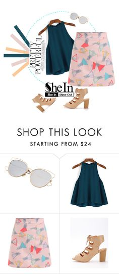 """""""Summer Style with SheIn"""" by fashion-in-wonderland ❤ liked on Polyvore"""