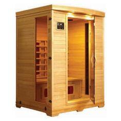 homemade sauna  LifeSmart 2-Person Carbon Tech Heater Sauna wtih MP3 Audio Input