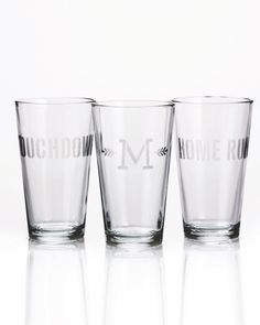 Etched Glasses.