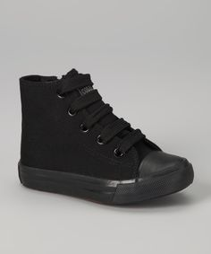 Black Hi-Top Sneaker