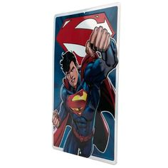 "It's a bird…it's a plane…don't be silly, you know who it is. And he's looking more powerful than ever in this dynamic pose. Superman fans will love this embossed tin sign, made even cooler with our eye-catching prismatic finish.  DC Comics officially licensed product Product Category: Metal Signs & Wall Art Material Description: Embossed Metal Size: 10"" W X 14"" H X 0.125"" D Weight: 0.6 LBS Open Signs, Dc Comics Superheroes, Dynamic Poses, Metal Signs, Wall Signs, Emboss, Superman, Plane, Tin"