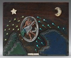 "Artwork: Betye Saar, ""Twilight Awakening,"" mixed media on printer's wood block Betye Saar, Types Of Texture, National Gallery Of Art, Find Objects, Different Textures, Elements Of Art, Art Object, Wood Blocks, Awakening"