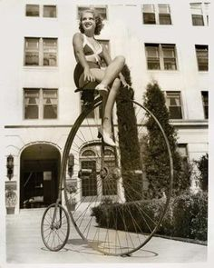 Boots n Burbs: TRANSPORTATION: Penny-Farthing