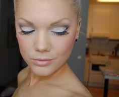Dagens make-up – Med rosor på kind