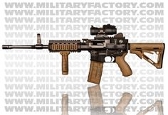 Picture of the Ares Shrike 5.56 Advanced Weapons System.