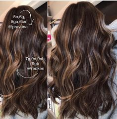 Long Wavy Ash-Brown Balayage - 20 Light Brown Hair Color Ideas for Your New Look - The Trending Hairstyle Brown Hair Balayage, Hair Color Balayage, Ombre Hair, Brunette With Balayage, Brunette Highlights Summer, Highlights On Curly Hair, Haircolor, Fall Balayage, Short Balayage