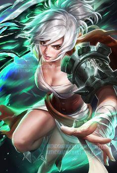 Imagenes de Riven.(League of Legends)