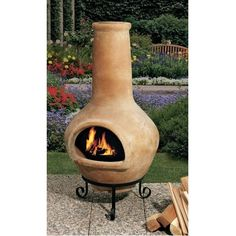 Nice Metal Chiminea With Dragonfly Print. Outdoor Chimenea Fireplace    Dragonfly In Gold Accent Finish (Without Gas) | Chimineas | Pinterest |  Metal ...