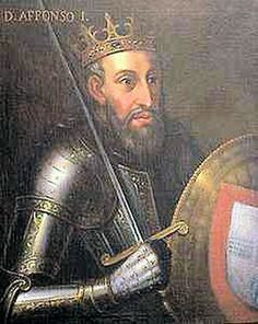 Afonso I Henriques, First King of Portugal - Maternal Great Grandfather. Son of Henry Count of Portugal. Norman Knight, History Of Portugal, Noble People, Vice Versa, Conquistador, Viking Warrior, Europe, Knights Templar, Culture