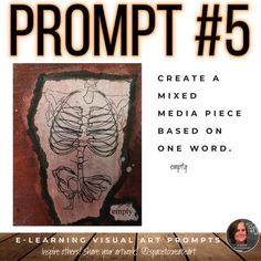 Visual Art Prompts for Remote Learning – A Space to Create Art Sketchbook Prompts, Art Prompts, Sketchbook Assignments, Journal Prompts, Writing Prompts, Journals, Middle School Art Projects, Art School, Visual Art Lessons