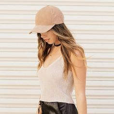Knit crop top Easy, light little crop top perfect with joggers, jeans, or shorts! Work once. Olivaceous Tops Tank Tops