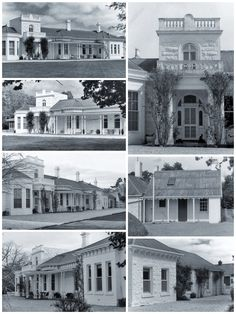 Blythevale Homestead, Streatham, was built for John Ritchie in the It is a rambling, charming building, wi… Australian Architecture, Australian Homes, Architecture Design, Country Estate, Country Farm, Country Houses, Home Structure, Melbourne House, Bay Windows