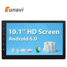 Eunavi 2 Din Android 6.0 2G RAM Full-Touch Car PC Tablet double din Audio GPS Navi Car Stereo Radio No-DVD mp3 Player BT iPod  ** Check out this great article. #CarElectronic