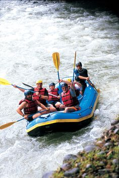 "Adventure river rafting on Rio Sarapiqui. Enjoy this on the OAT ""Real Affordable Costa Rica"" adventure. For more information please visit http://www.oattravel.com/Trips/2013/Real-Affordable-Costa-Rica-2013.aspx #CostaRica #rafting"