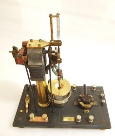 RARE COLLECTION ! ANTIQUE DUCRETET MERCURY INTERRUPTER FOR X RAY RUHMKORFF COIL  in Collections, Sciences, médecine, mesure, Sciences médicales | eBay Science And Technology, Physique, Mercury, Tools, Collection, Antiques, Ebay, Gadgets, Instruments
