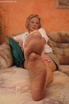 German nylon feet csak