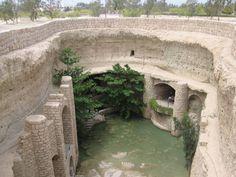 Kish Qanat (the underground town) - Kariz, Iran
