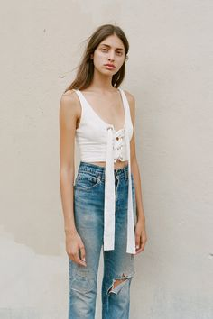 torn & patched < wear your denim like you live your life ⬆⬆ clothes with meaning || Saved by Gabby Fincham ||
