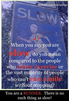 haha.. I am slow compared to the people who can run like 6 minute miles! but I love it, and can run longer :)