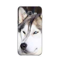 Samsung Galaxy J3 J5 J7 Back Cover Soft Shell Cellphone Wacky Husky Design Phone Case