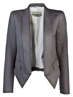 Comes with shoulders. Male or female blazer?