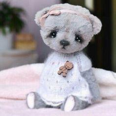 Stuffed Animals, Teddy Toys, Fabric Animals, Warm Fuzzies, Love Bear, Cute Teddy Bears, Soft Dolls, Doll Toys, Diy For Kids