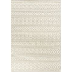 Orian Rugs Waterfront Ivory Rectangular Indoor/Outdoor Machine-Made Coastal Area Rug (Common: 8 x 11; Actual: 7-ft W x 10-ft L)