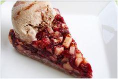 Autumn Florida Dessert! No Not Piña Coladas, More Like Cranberry Apple Pie With Cinnamon Swirl Ice Cream