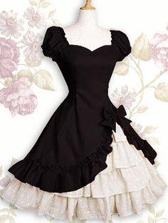 robe noir