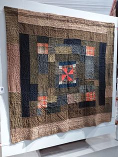 sashiko and other stitching: The Welsh Quilt Centre - part 3 Wool Quilts, Amish Quilts, Star Quilts, Shibori, Denim Quilt Patterns, Make Do, Neutral Quilt, Medallion Quilt, Man Quilt